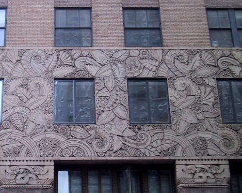 Pattern on Building, Lexington Ave