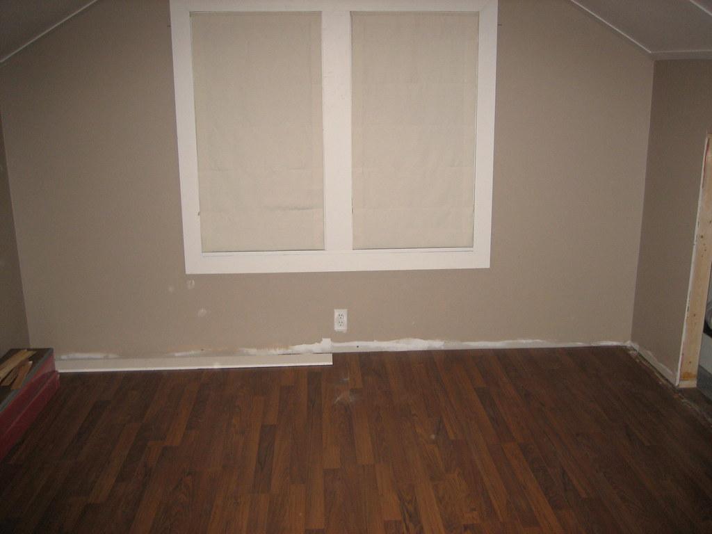 Master BR flooring installation