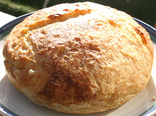 No Knead Bread Baked