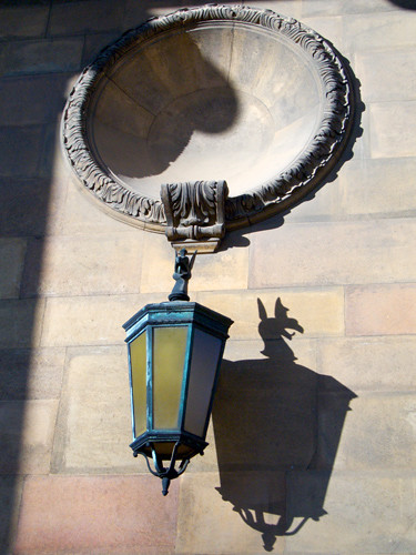 Lamp Casts Shadow