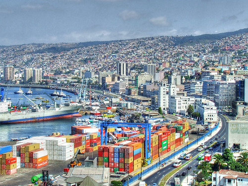 Valparaiso A port city on the Pacific