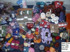 My Yarn Collection - 2/2/07