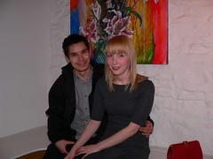 Me & Sam (the finnish girl) Tags: exhibition pollard