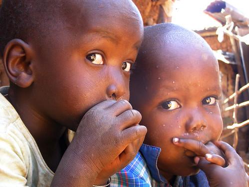niños en kibera
