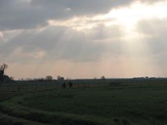 Headed Home at Dusk (kahala) Tags: dru sunset dusk bikes arles vélos camargue balade arlesbykahala