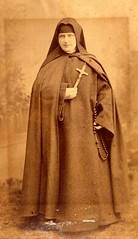 Vintage Sepia - Nun (Tobyotter) Tags: portrait sepia vintage sister nun franciscan thirdorderofsaintfrancis
