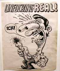 "R. Crumb -  ""My True Inner Self"" Exhibition (John Suder) Tags: philadelphia comics sketch cartoon exhibit exhibition uarts robertcrumb rcrumb undergroundundergroundcomics"