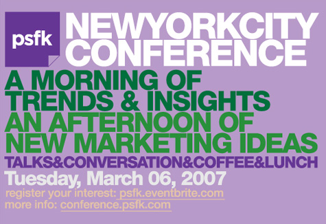 PSFK Conference New York