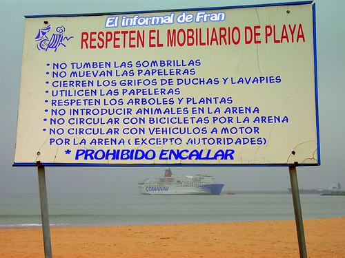 PROHIBID ENCALLAR