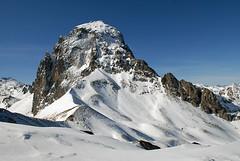Pic du Midi d'Ossau vu du Pic de Saoubiste