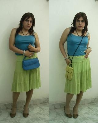 Blue Green Girl