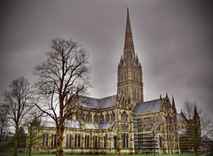 Salisbury Cathedral HDR - by *Tom*
