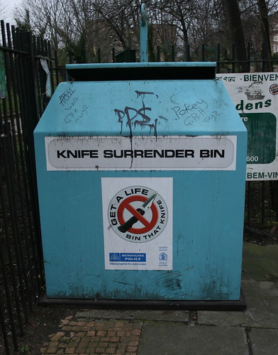 Knife Surrender Bin