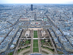 Paris (Andrea Cassani) Tags: panorama paris france high tour view central perspective eiffel champdemars supershot top20flickrskylines aplusphoto