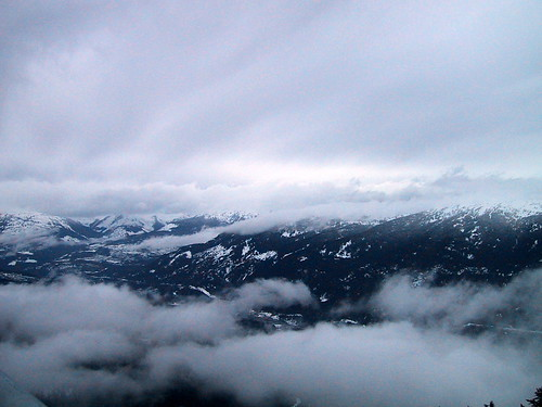 Panorama from Blackcomb