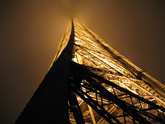 Eiffel Tower At Night, From 2nd Level