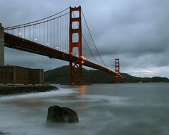 Stormy Day (A Sutanto) Tags: sanfrancisco sf california ca usa america bridge goldengate ggb sfbay clouds storm rain wave longexposure bay superaplus aplusphoto goldengatebridge