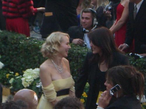 Oscar con Naomi Watts