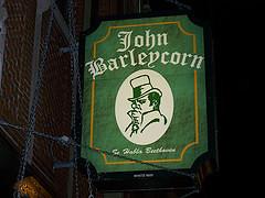John Barleycorns Sign