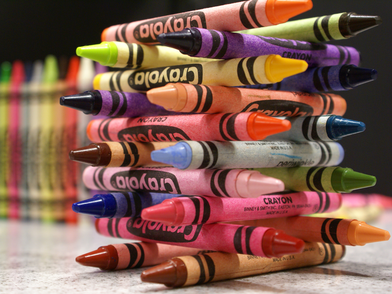 Crayola Lincoln Logs