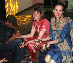 Mehendi for the guests