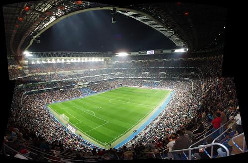 Panoramica 002 - Estadio Santiago Benabeu