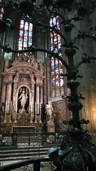 米蘭大教堂內部2