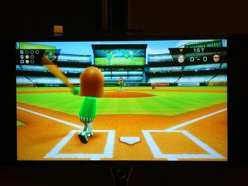 Nintendo Wii Baseball