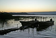 Sunrise over Lake Baringo (imanh) Tags: africa lake sunrise boot dawn boat meer kenya afrika kenia zonsopgang iman baringo heijboer imanh