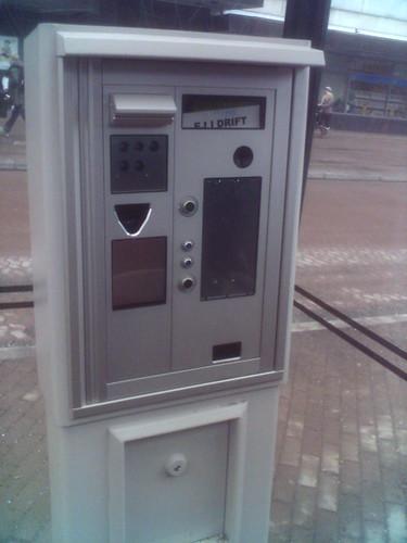 Fahrkartenautomat Stockholm