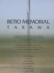 Betio WWII Memorial (lotto94024) Tags: memorial war wwii 2007tarawa betio