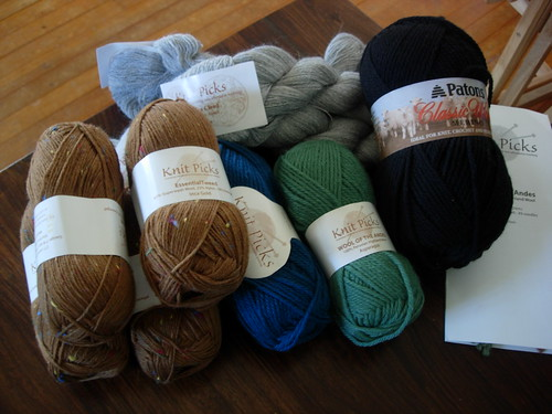 look at all my new yarn