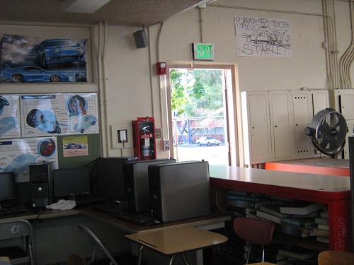 Auto shop Classroom