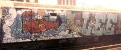 lee3 (Zomboider) Tags: newyork subway graffiti oldschool lee wholecar tf5