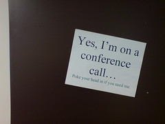 Conference calls 'till eternity
