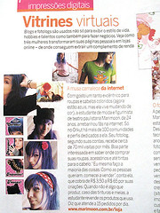 Revista Criativa (marimoon) Tags: fashion blog media style fotolog virtual loja clipping fotologger mdia marimoon