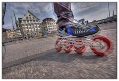 shaken, not stirred #I (Toni_V) Tags: city d50 switzerland cool zurich skating perspective inline rollerblading hdr sigma1020mm photomatix powerslide 2exp toniv ©toniv