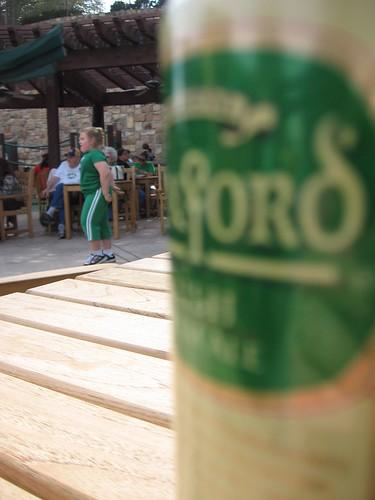 Irish Ale and an Irish Dancer