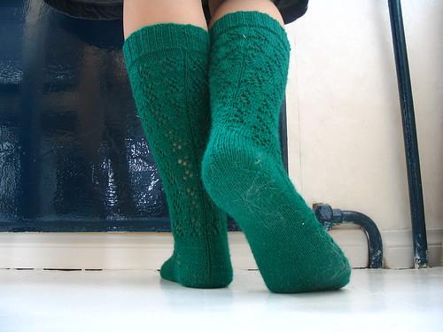 vihreä sukka