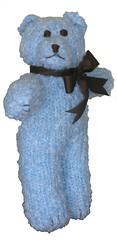 Knit Blue Bear