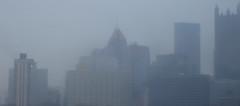 Skyline in the Rain - Pittsburgh Skyline, No. 28