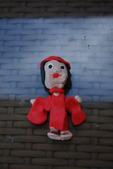 Sculpey clay doll by Violet