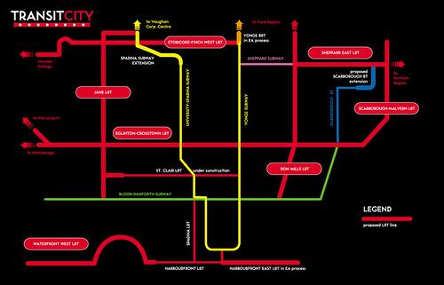 ttc announces transit city plan