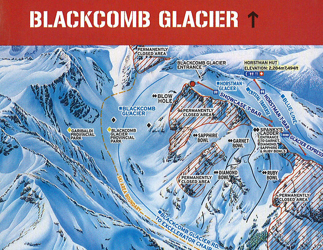 whistler  blackcomb glacier by dpstyles