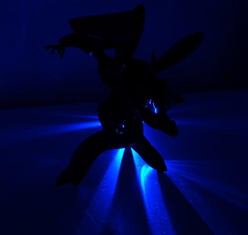 In darkest knight...
