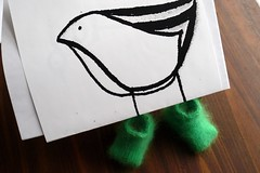 baby bird booties