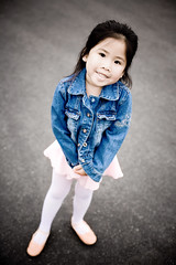 ready to dance (arkworld) Tags: street ballet jessie ballerina jacket denim jessieballet public4now