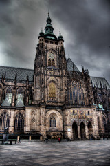 St Vitus' Cathedral, Prague...HDR (Stevacek) Tags: d50 nikon czech prague cathedral prag praha praga czechrepublic hdr hradcany stvitus katedral ceskarepublica tthdr stevacek svatyvit