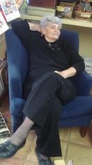Mom totally crash in a chair in a noisy house. (hargilltexas) Tags: christmas 2006 pollock