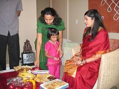 2006_10_07_Pinky_SreeMantham0038 (ashwin_to) Tags: kolam rangoli indianbabyshower sreemantham